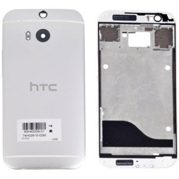 Carcasa HTC One M8 Originala Alba