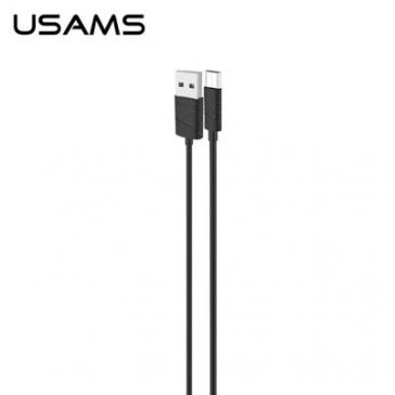 Cablu date Usams Micro USB Gee Series Samsung Galaxy Core Prime Value Edition G361 Negru